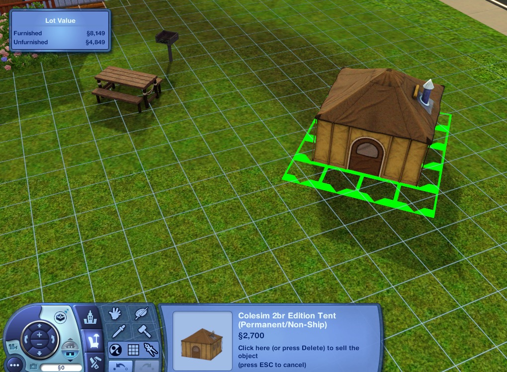 sims 2 how to make community lot residential