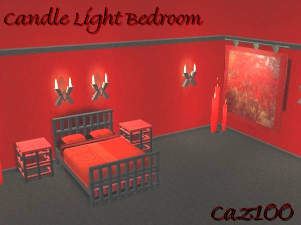 mod the sims candle light bedroom new set