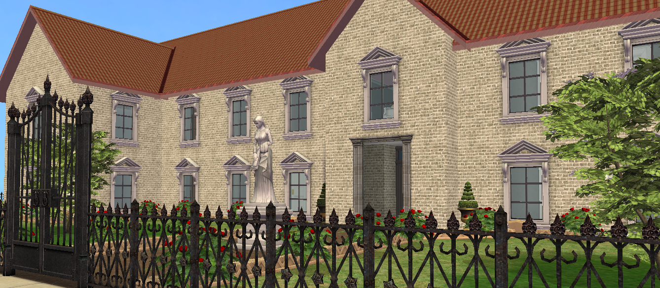 Mod The Sims - Mayor's Mansion (From SimCity Buildit) - No CC
