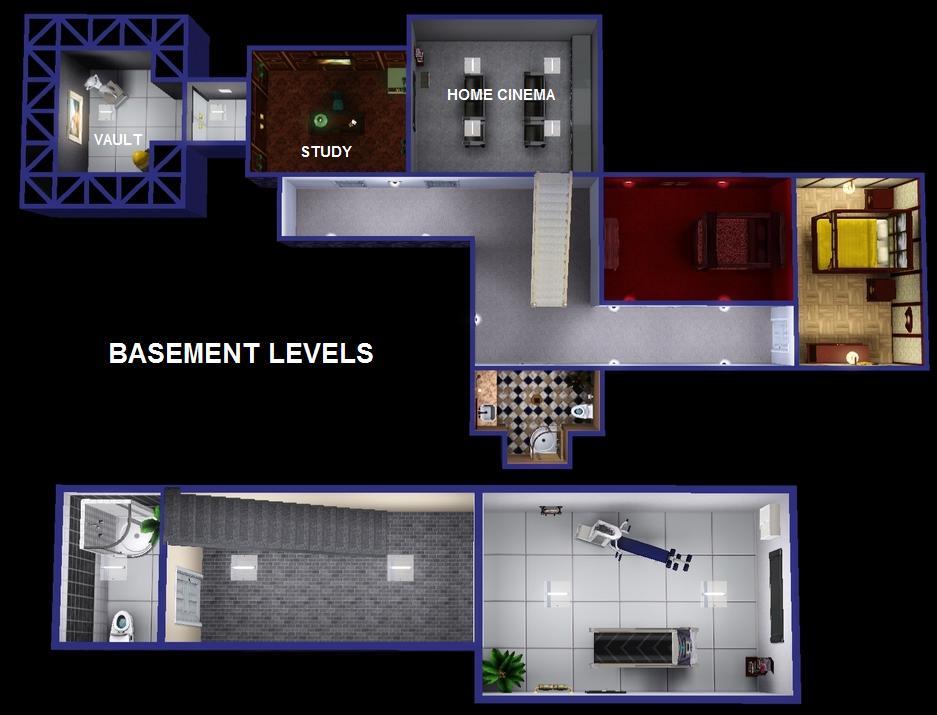 Mod The Sims Graceland Elvis Presley S Mansion