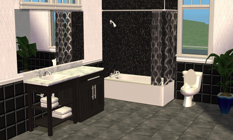 Mod the sims smallhouse models bathroom set for Bathroom ideas sims 3