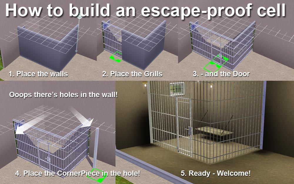 Mod The Sims Build Your Own Cell