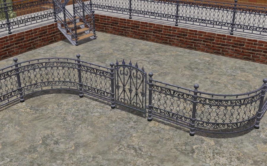 The Staircase Cost 60 And The Fence 30 For Some Reason I Do Not Understand The Railing Costs Nothing The Corner Filling Cost 10 And You Can Find It