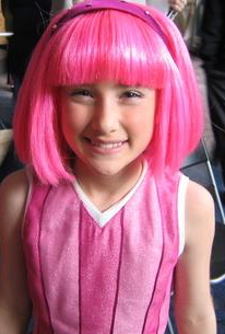 lazy town pink haired girl
