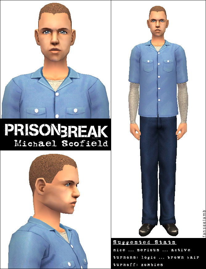 Mod The Sims - Prison Break Sims: Michael + Sara