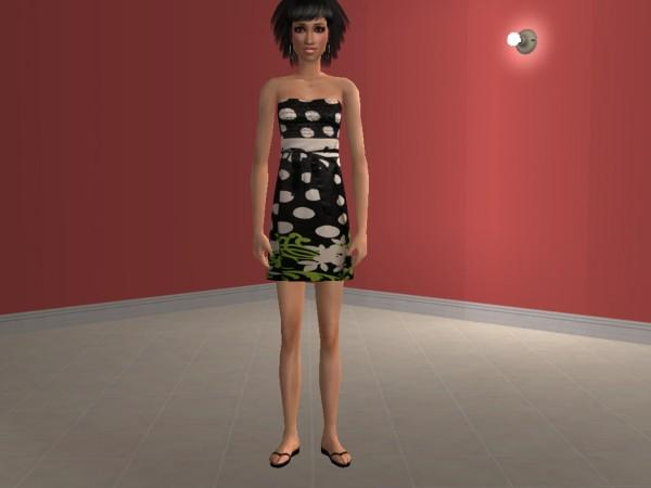 Mod The Sims - A Set of Four Mesh Free Teen Dresses :)