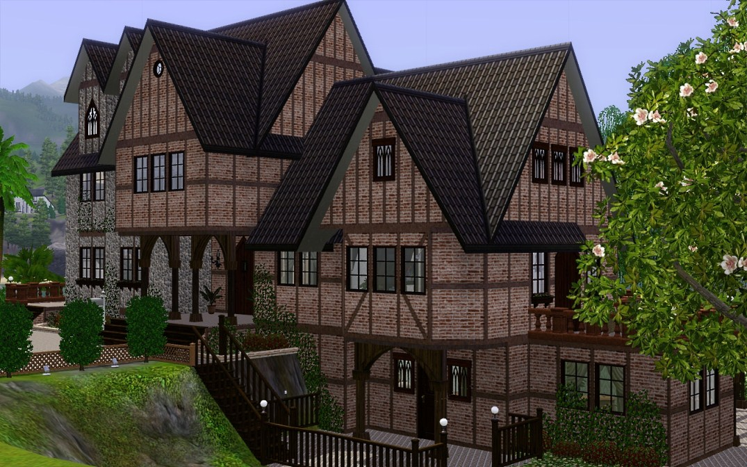Mod The Sims English Country Estate Remade For Ts3