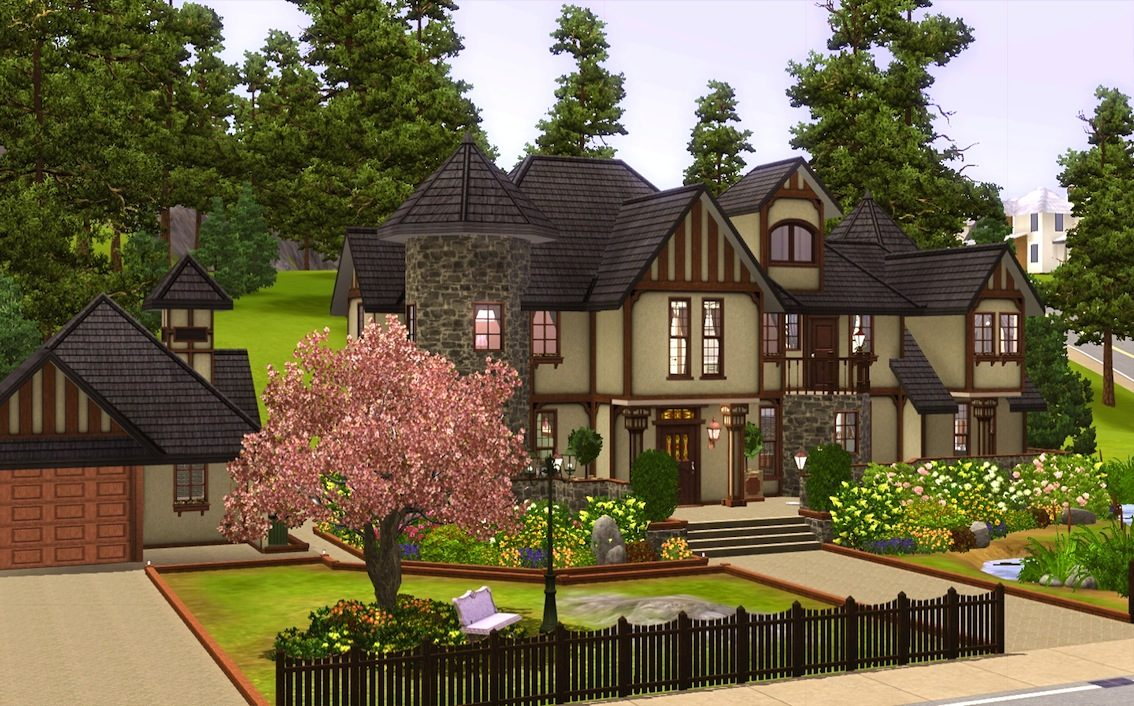 mod the sims - alcester house