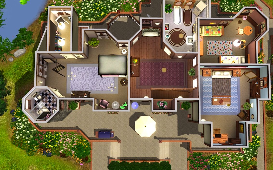 22 Cool Sims 2 House Floor Plans - House Plans