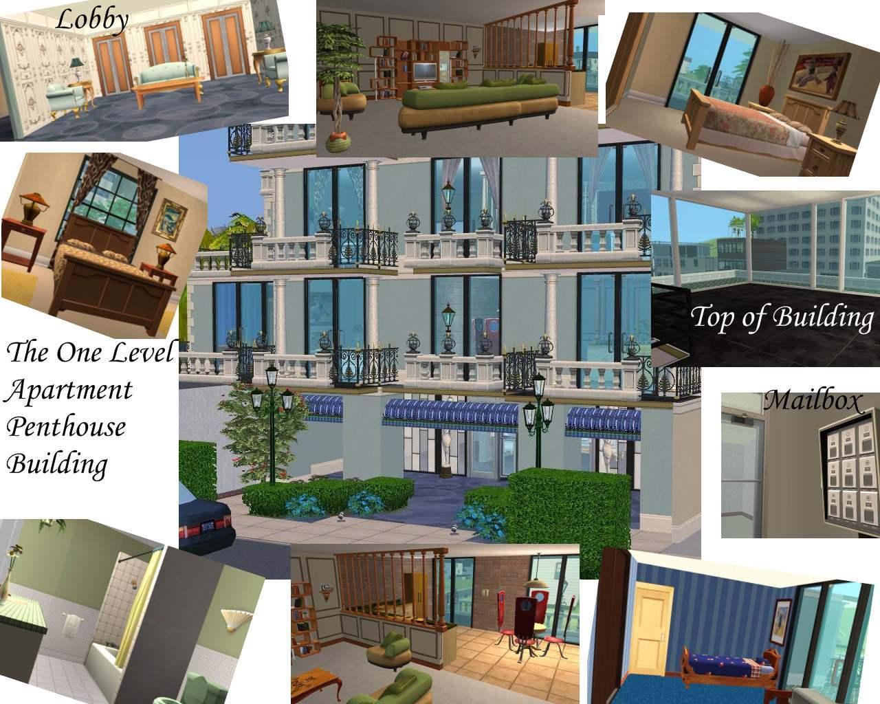 Mod The Sims Renaissance Complex Apartments Starbucks