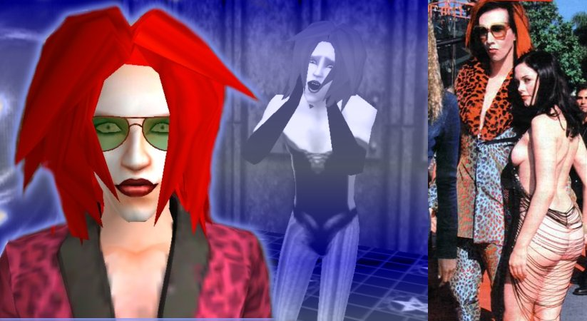 Mod The Sims - :::UPDATED::: Marilyn Manson (All Members)