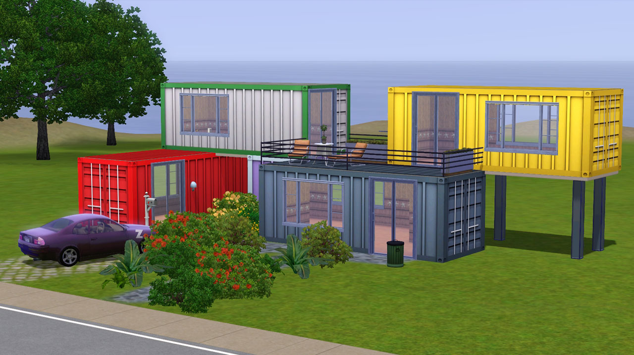 Mod the sims container textures - How much are container homes ...