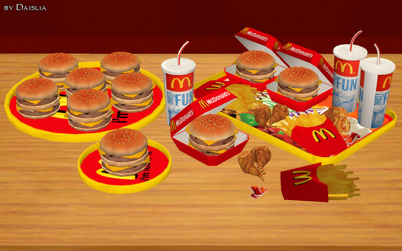 Sims  Fast Food Mod
