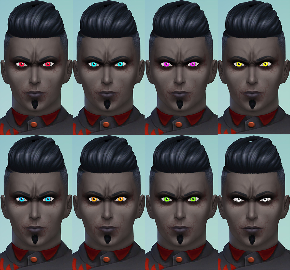 Mod The Sims - More Vampire Eye Colors