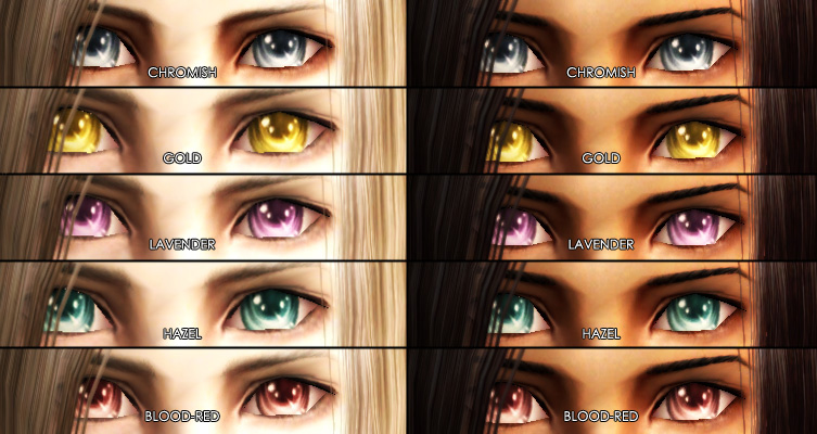 Anime Characters With 3 Eyes : Gold hazel eyes