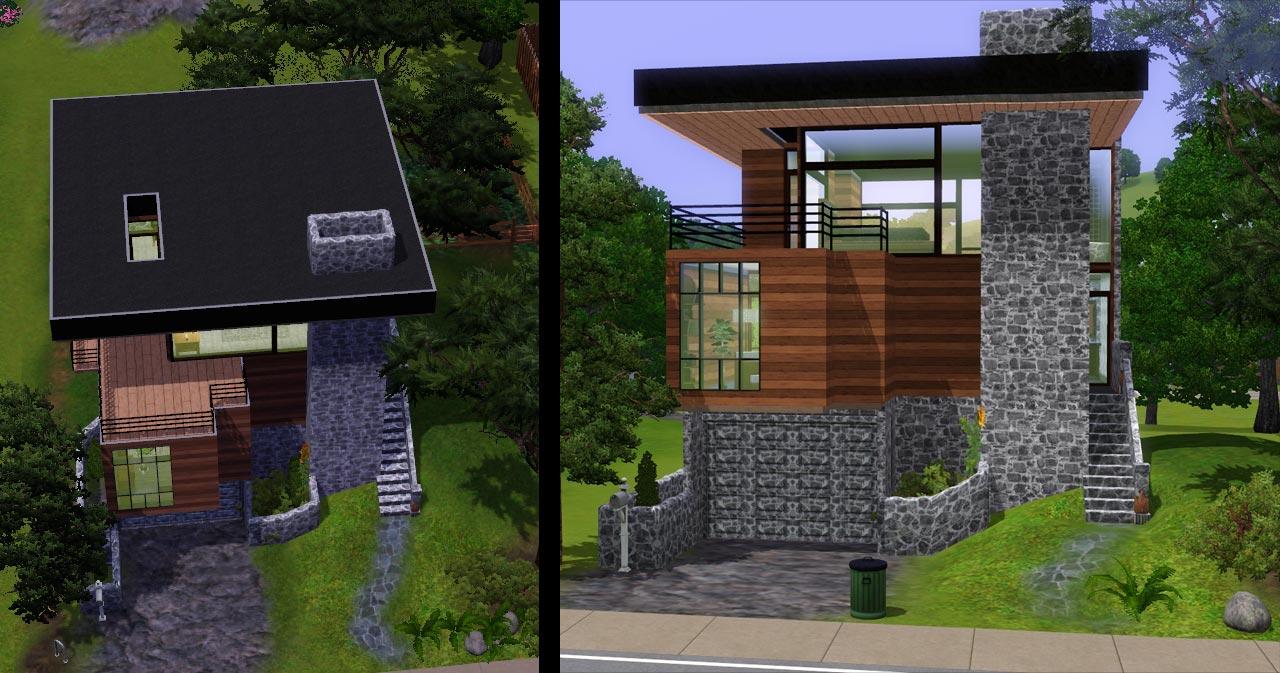 Mod the sims villa 8 for Garden room 2x3
