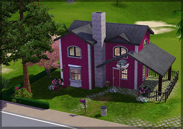 Mod the sims featured creator black0rchid for Case the sims 3 arredate