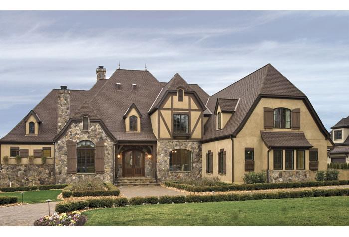 mod the sims - olmstead #1 - european suburban house
