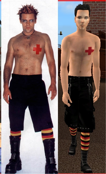 Mod The Sims - Rammstein's Richard K.