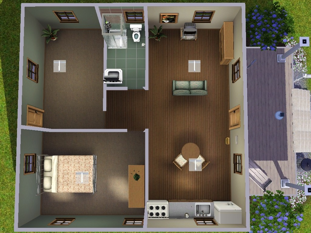 Mod The Sims Katrina Cottage 480