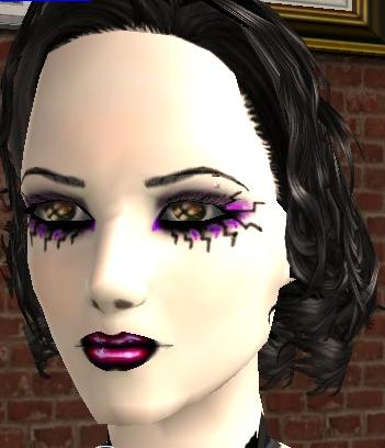 Mod The Sims - Gothic makeup set