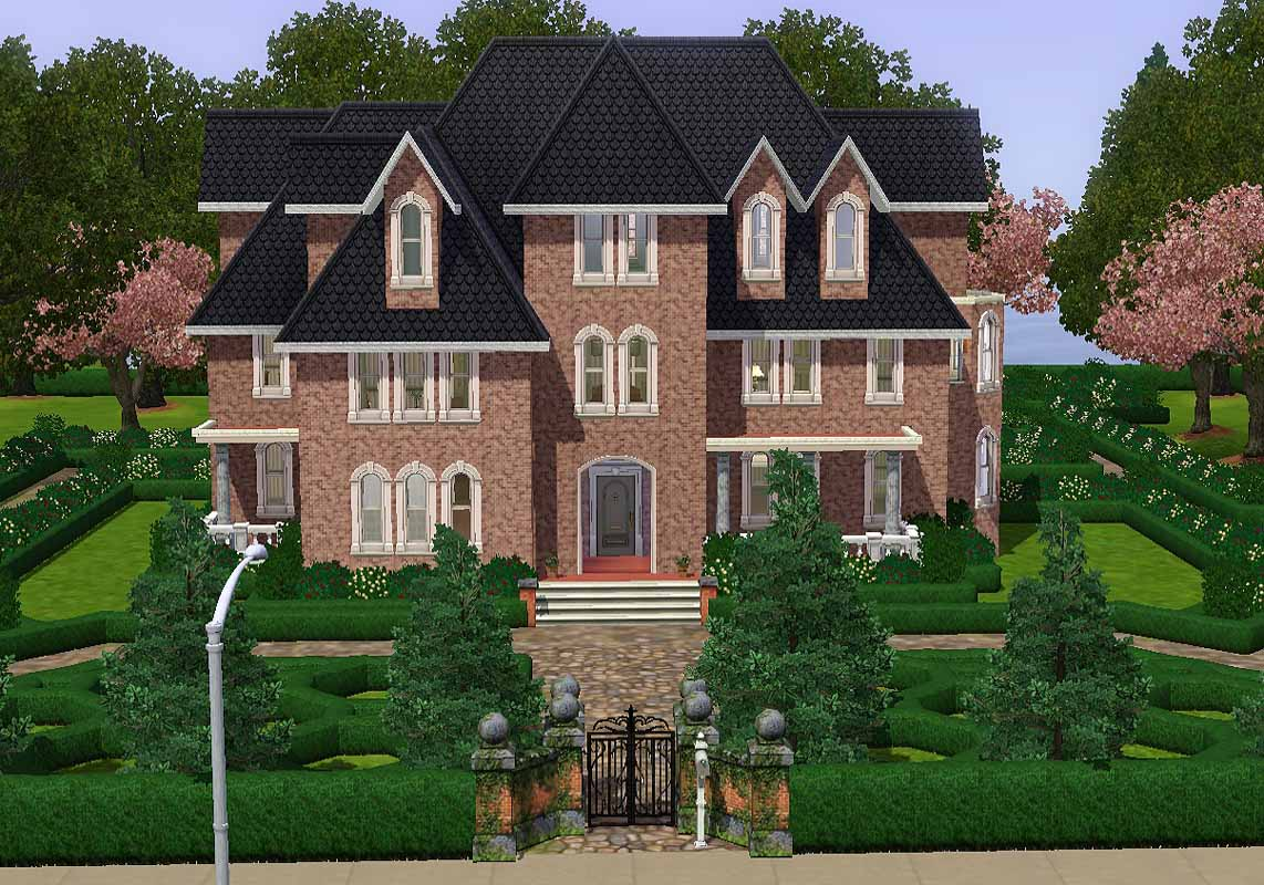 French Colonial House Plans Mod The Sims Sophisticated Victorian With English