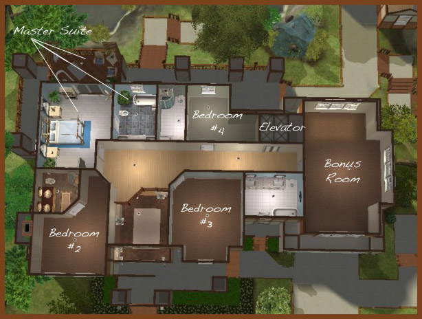House Layouts For Sims 2 Image Search Results