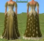 Женская одежда в стиле фэнтези-средневековья: Sherahbim на MTS2. один из комплектов одежды Sherahbim.