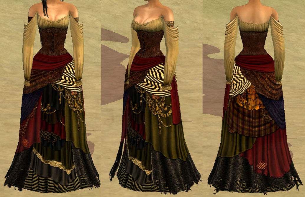 The sims 3 18th century dress styles