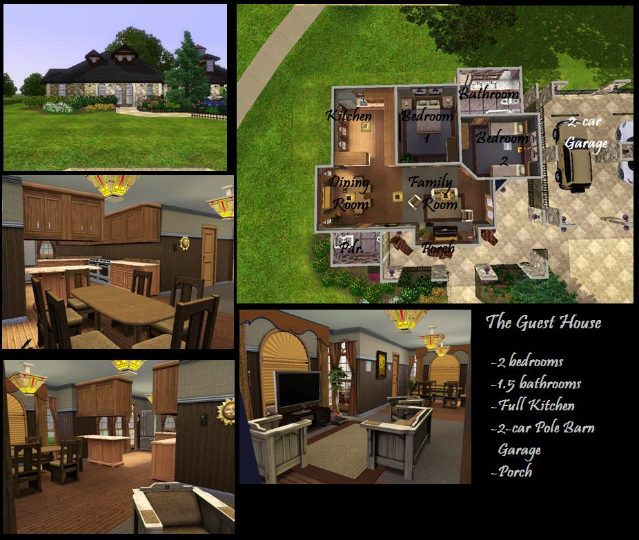 Mod the sims the watergate mansion 8 bedrooms 9 for 3 6 bed