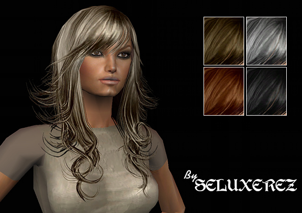 sims 2 hairstyle. Mod The Sims - XmSims Hair 69