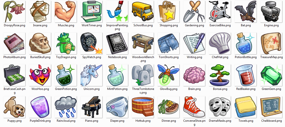 Sims  Cats And Dogs Icons