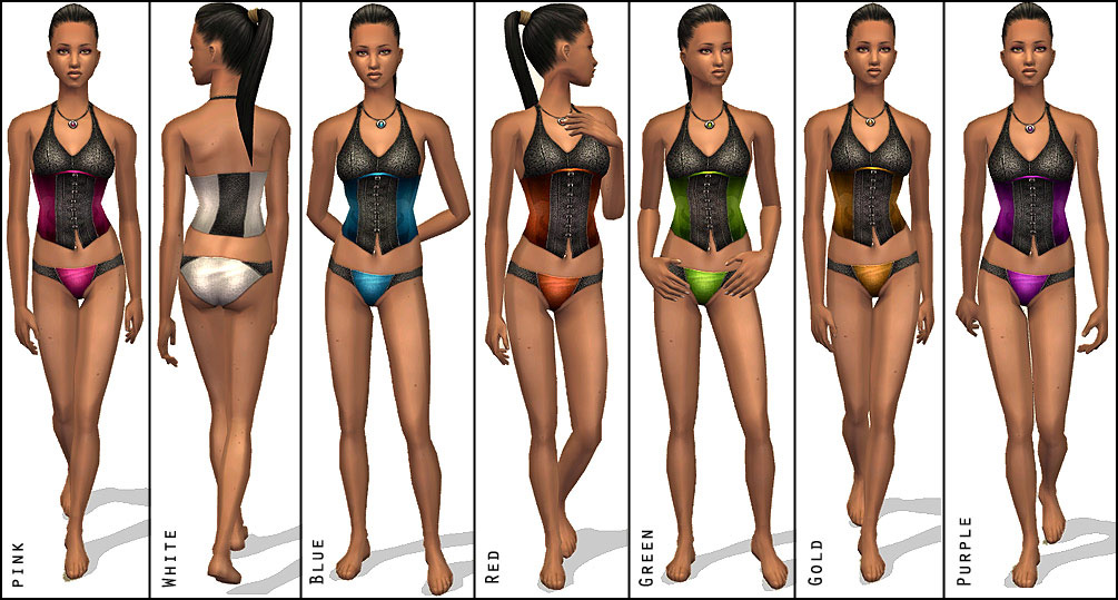 MTS  Shady  888242 shady sexy leather lingery1 Mod The Sims   Sexy Leather Lingery (7 colors)