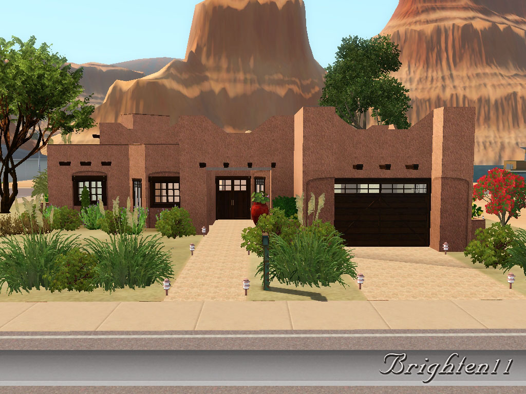 Mod The Sims Sonora Adobe House