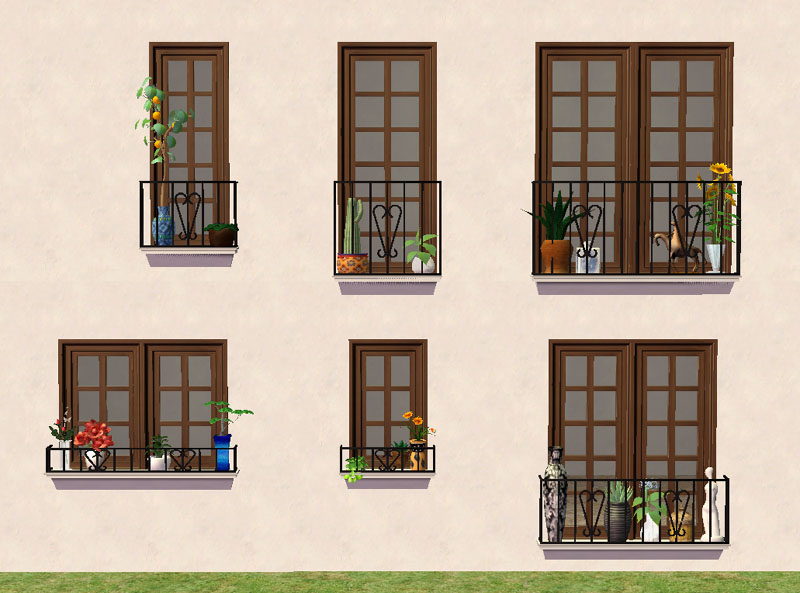 mod the sims torrox spanish southwestern build set part. Black Bedroom Furniture Sets. Home Design Ideas