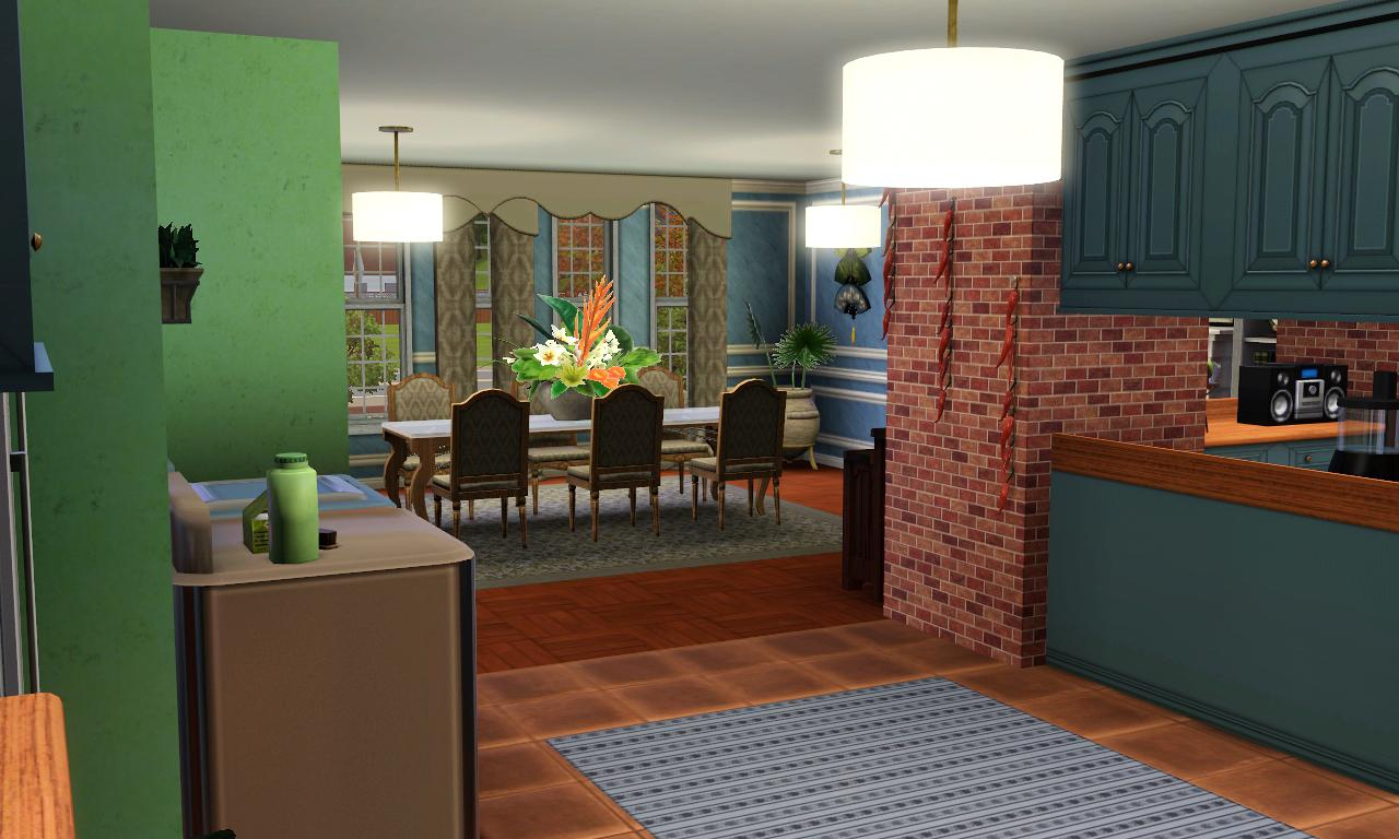 Mod the sims tudor house no cc for Classic house sims 3