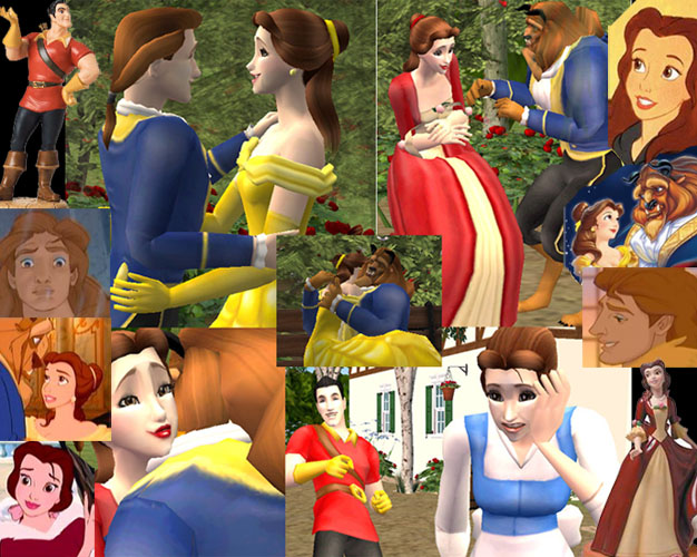 Mod The Sims - **Update#2** Disney's The Beauty and the Beast: Belle