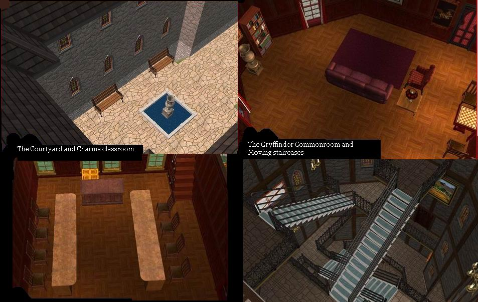 Mod The Sims Hogwarts Memories The Castle