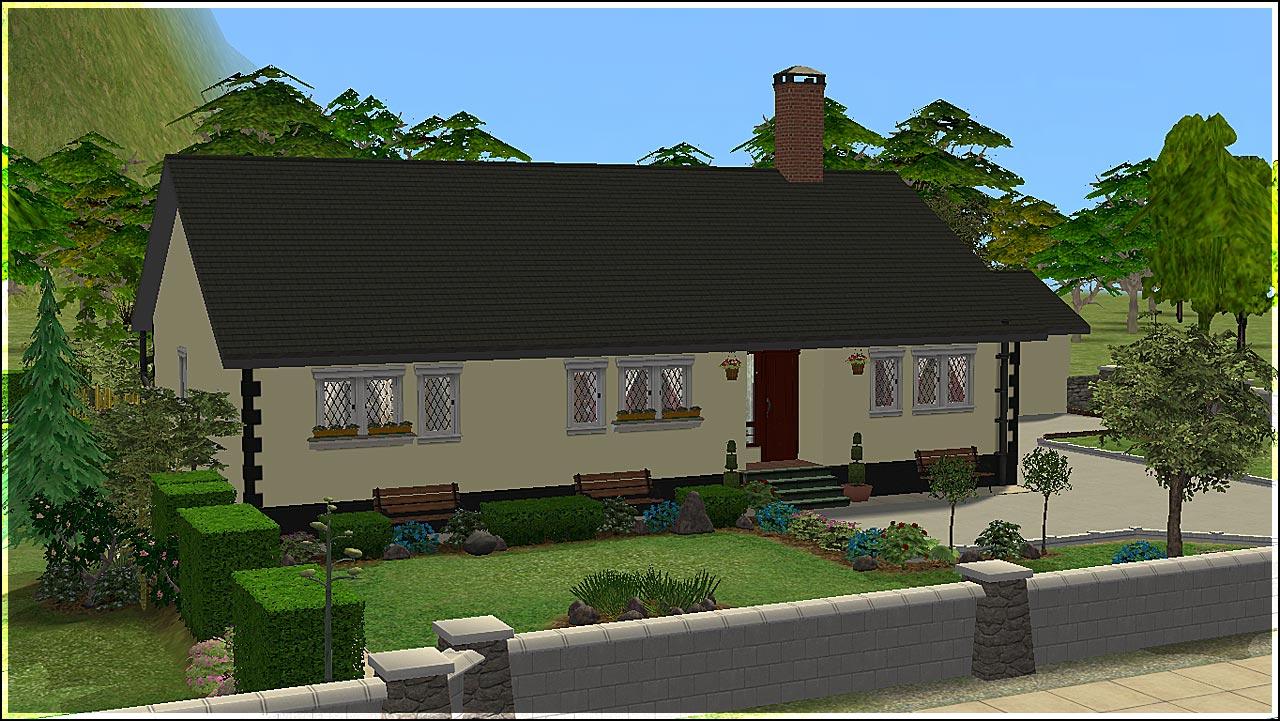 Mod The Sims Sharwikeen A Rural Irish Bungalow New