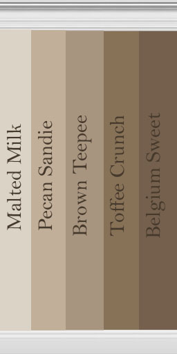 Mod the sims member danikat for Neutral light brown paint colors