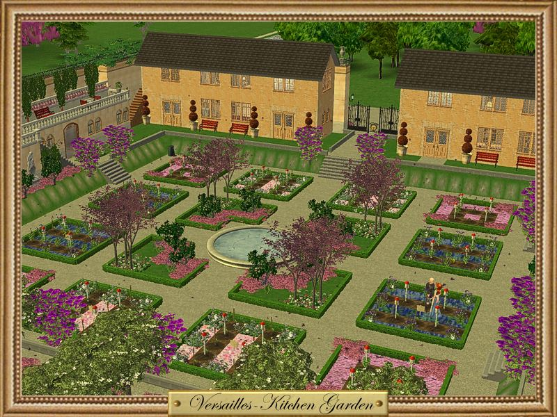 Mod the sims featured creator tatiana dokuchic for Garden design versailles
