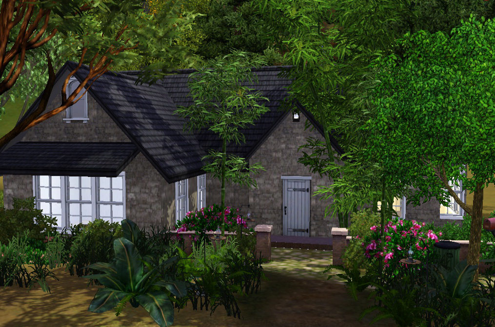 Totally sims 3 updates cottage edward bella breaking dawn for Twilight house price