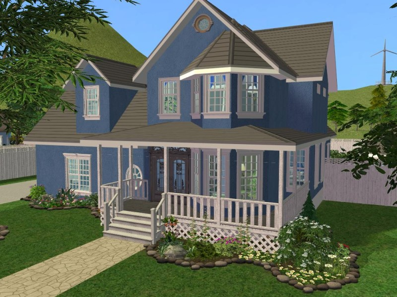 Mod The Sims 3 Bedroom Traditional Style Family Home