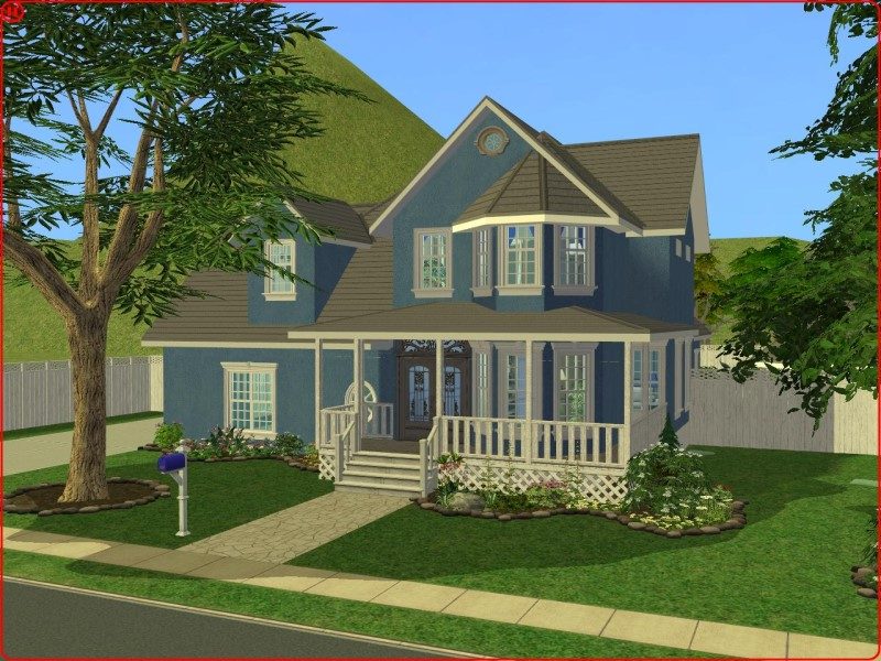 Mod the sims 3 bedroom traditional style family home for Classic family home