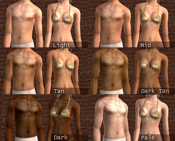MTS Ren 416211  Louis Skin 07s 00 XM Sims2 free Sims 2 computer game skin tone download