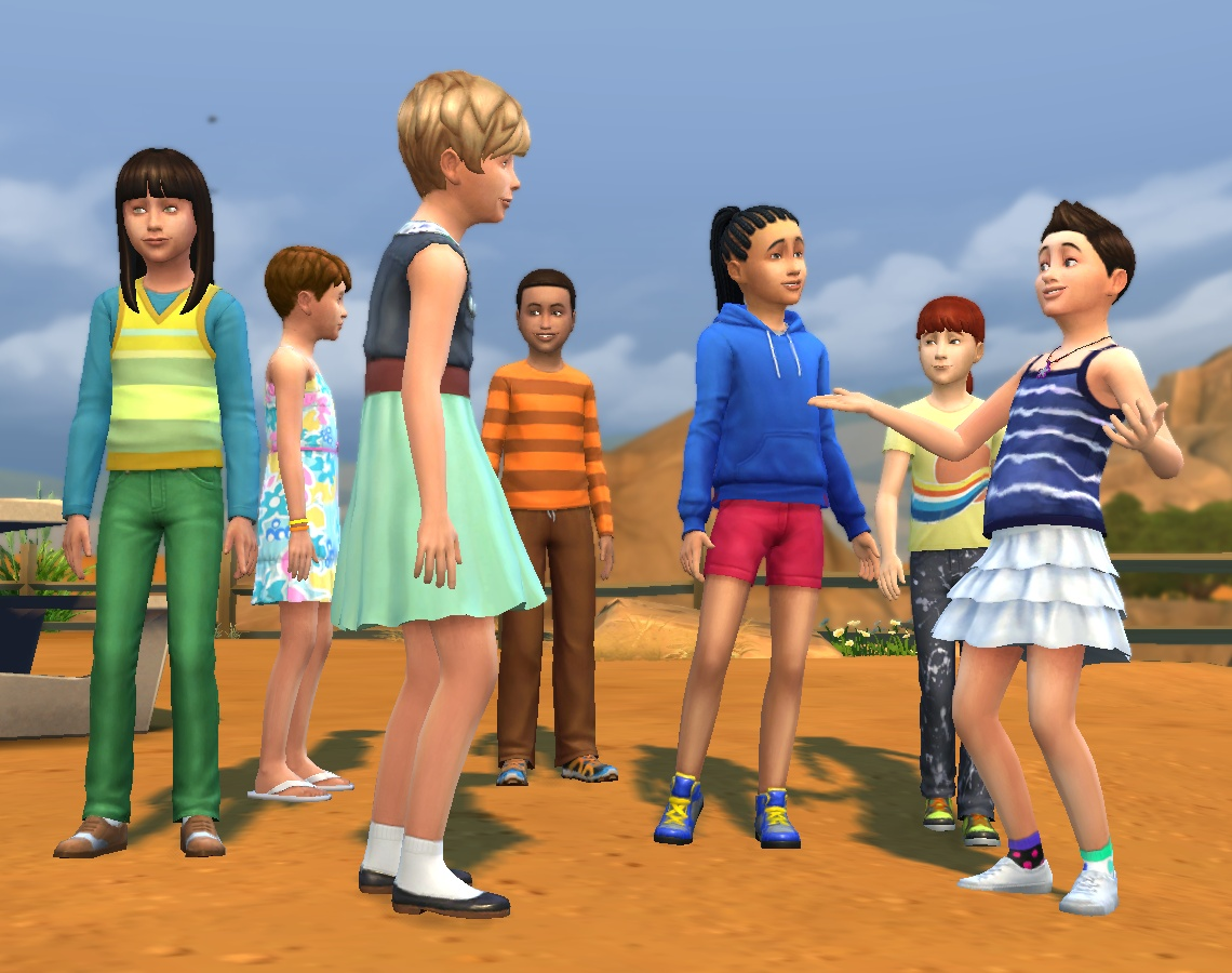 Mod The Sims - Updated: Hair Equality for Children 02