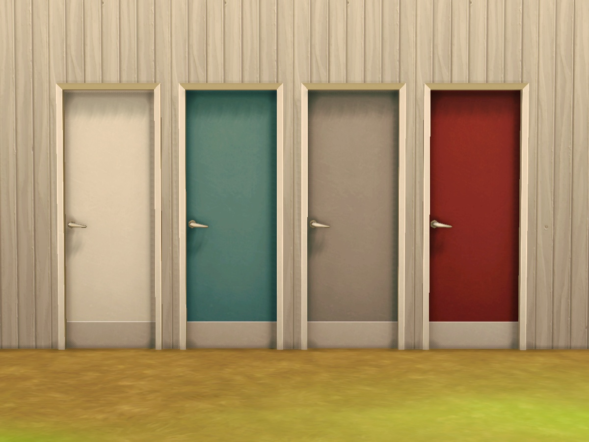 Mod The Sims - Featureless u201cFeatureless Fiberglass Doorsu201d (aka toilet doors) & Mod The Sims - Featureless u201cFeatureless Fiberglass Doorsu201d (aka ... pezcame.com