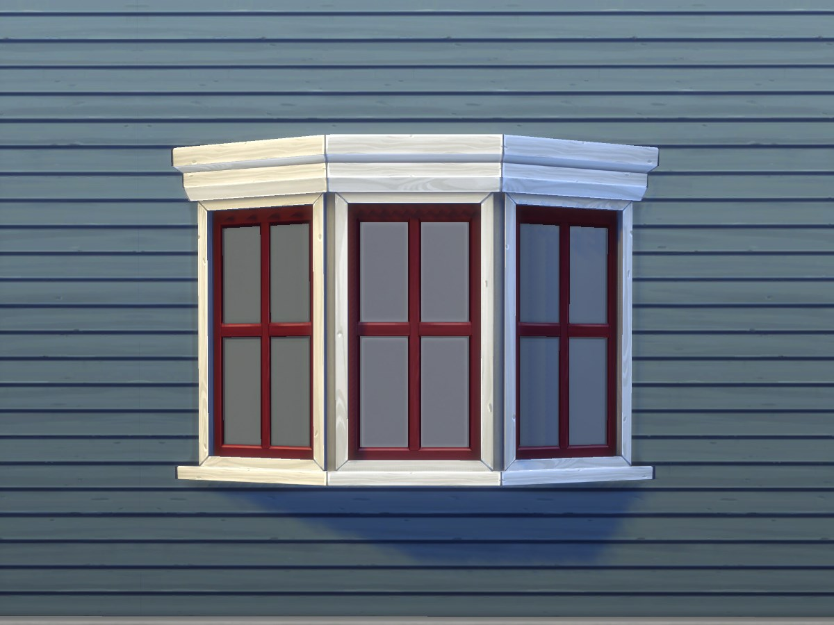 Mod the sims casement bay window for Box bay windows for sale