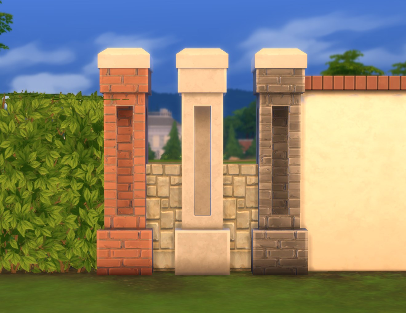 decorative fence post glass fence stone wall its from so that one can decide for oneself where the posts should go or used as decorative post gates porches and like mod the sims stonework fencepost