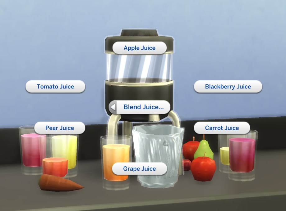 Empty Juice Blender ~ Mod the sims juice blender